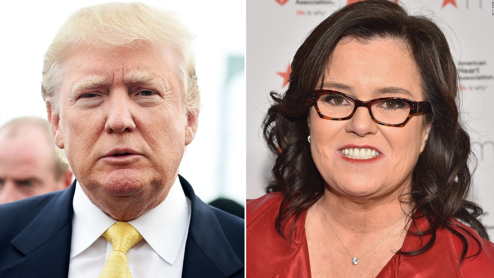 The Donald Trump-Rosie O'Donnell feud: A timeline ...