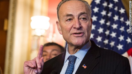 Sen. Charles Schumer (D-NY) speaks during a news conference to discuss U.S. President Barack Obama's executive order on immigration, on Capitol Hill, December 10, 2014 in Washington, D.C.