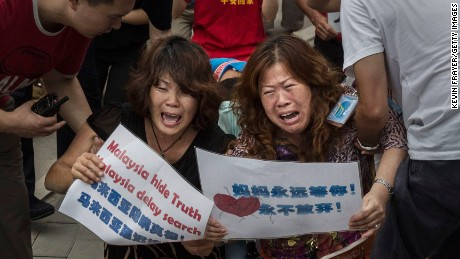 Chinese MH370 families demand certainty, closure