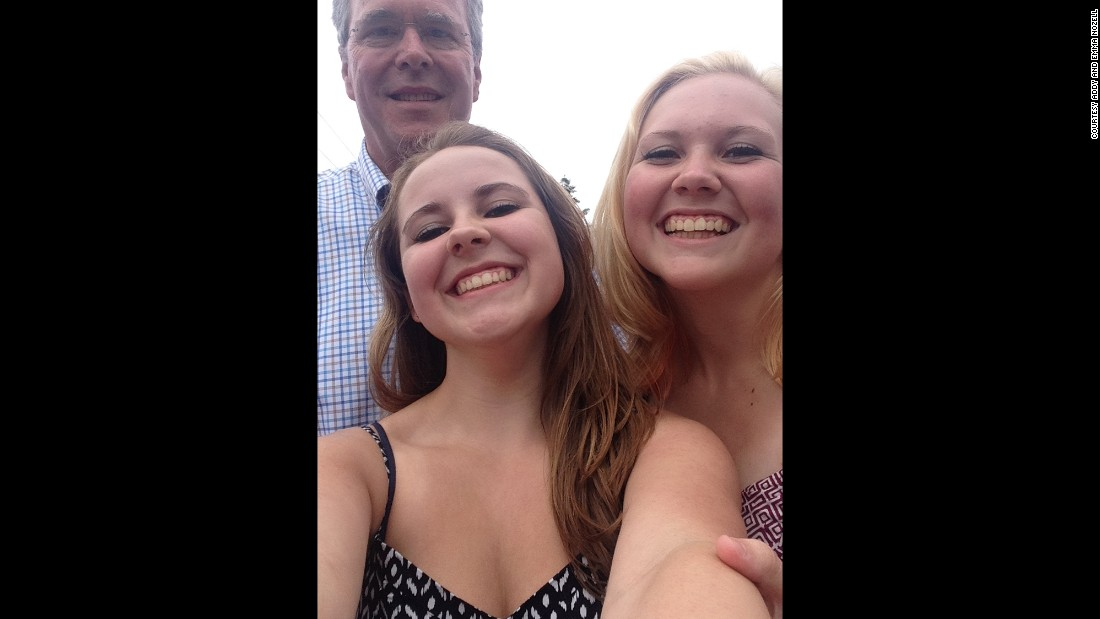 Former Florida governor Jeb Bush on July 4 in Amherst, New Hampshire.