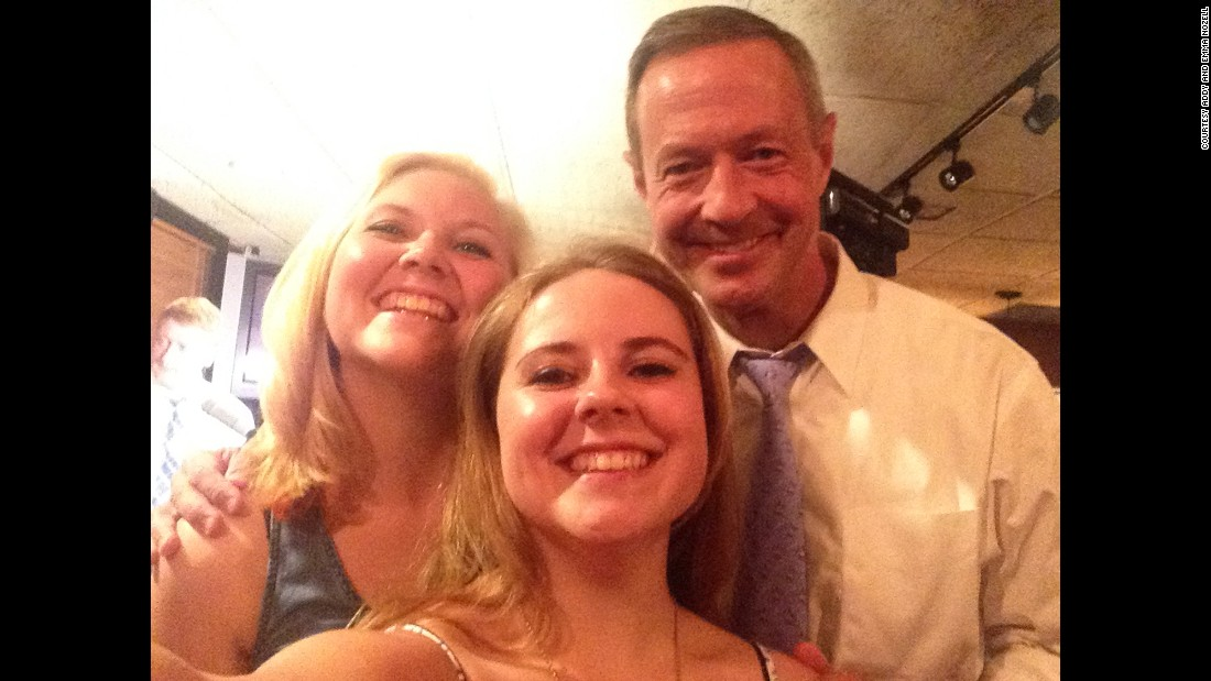 Former Maryland governor Martin O'Malley on July 8 in Concord, New Hampshire.