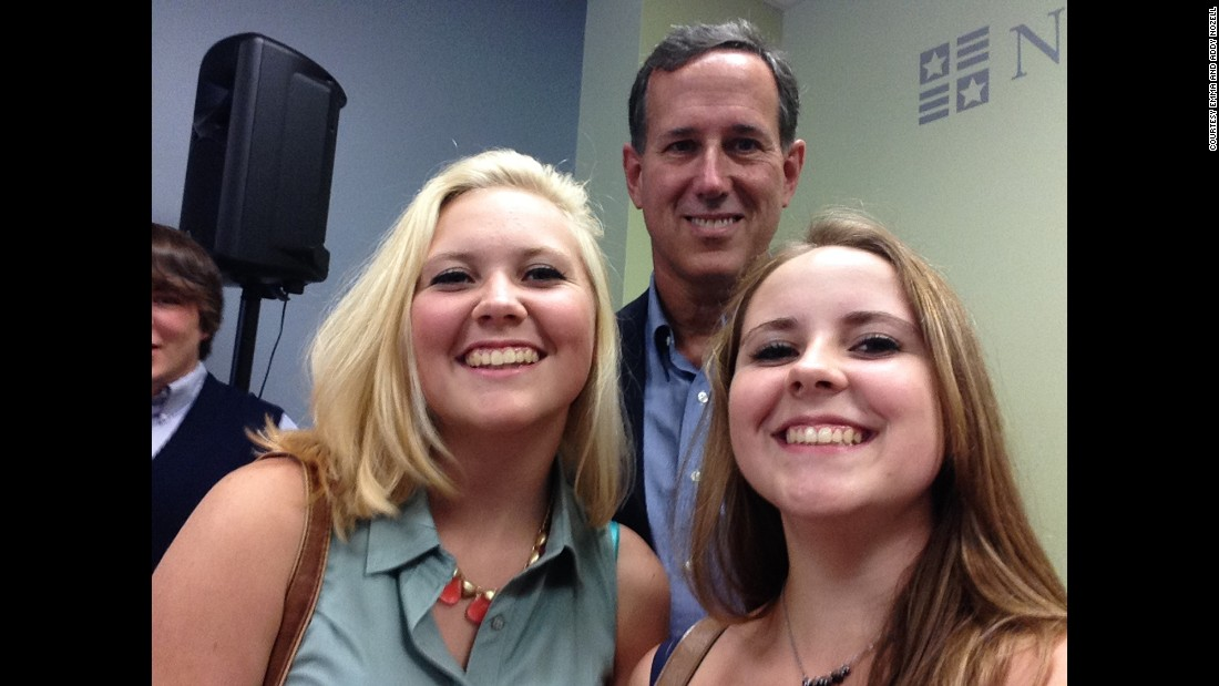 Former Senator Rick Santorum  on July 24 in Concord, New Hampshire.