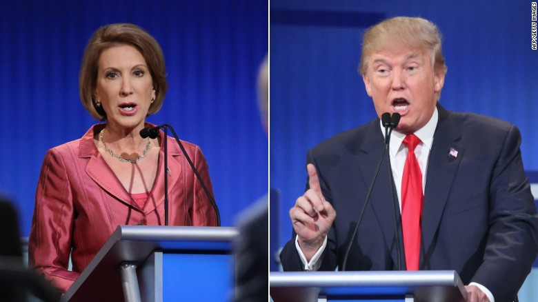 Trump: I made jab at Fiorina as an 'entertainer'