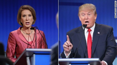 Trump insists he wasn't talking about Fiorina's looks