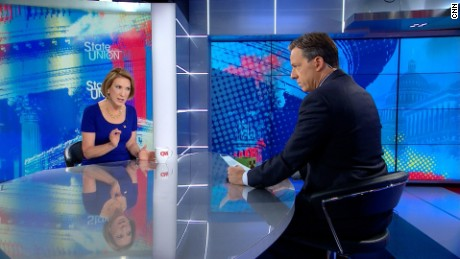 Jake Tapper interviews Republican Presidential Candidate Carly Fiorina.