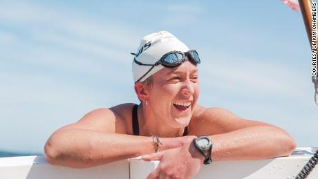Kim Chambers, swim