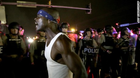 Ferguson protests mark a year of outrage