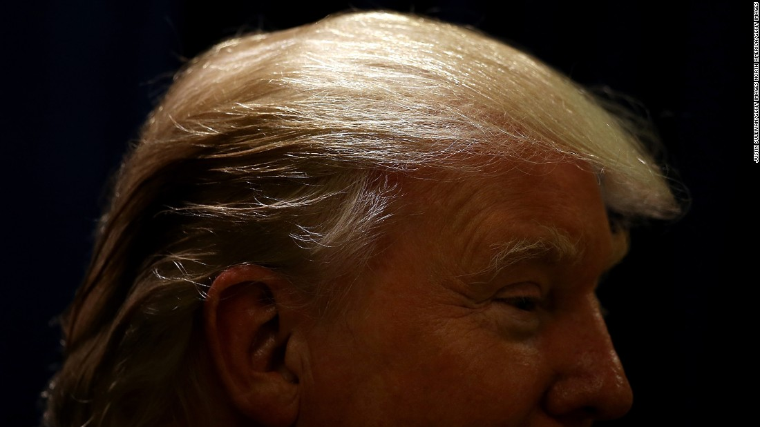 Trump's signature hairstyle is actually more flip-over than comb-over. The Republican presidential candidate has said that he would banish the 'do if he were elected President because it is too time consuming. Click through our gallery to see other styles that are popular.
