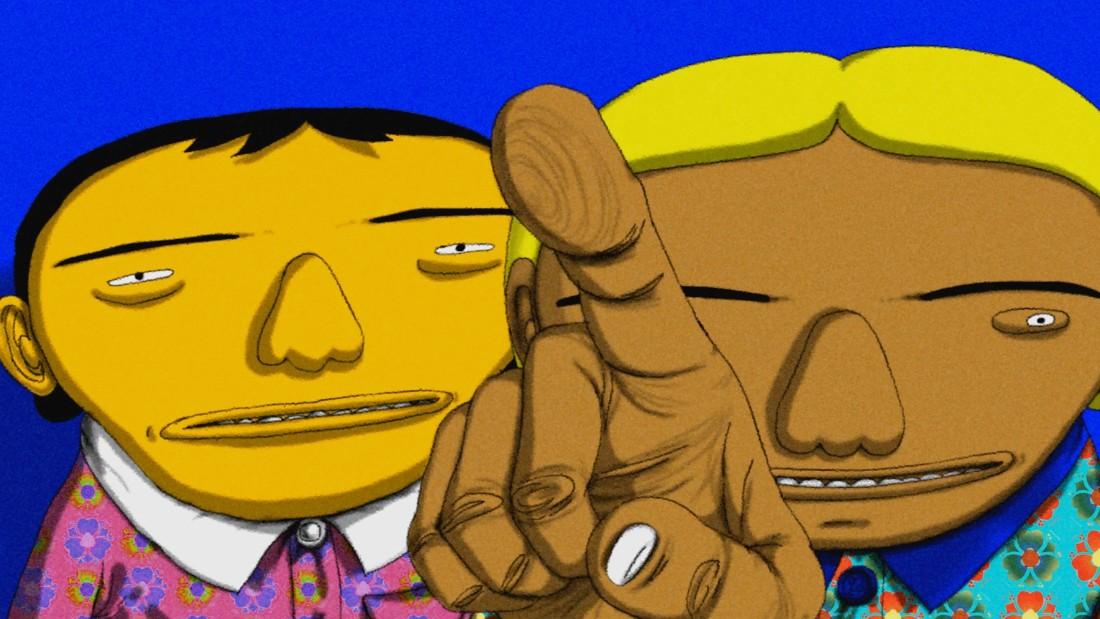 Brazilian artist duo Osgemeos take over Times Square