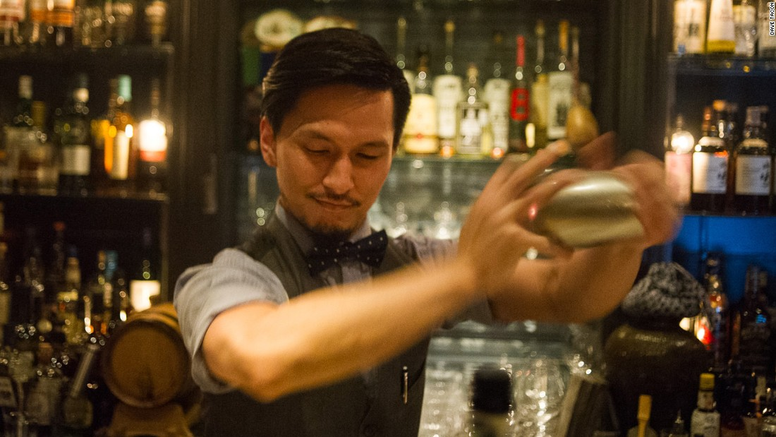 The bar is helmed by Gokan's protege, Atsushi Suzuki.