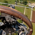 wright b flyer pilot view