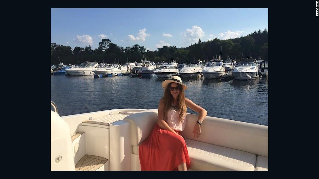 "Monica Stott divulges travel tips on her blog, <a href=""http://thetravelhack.com/"" target=""_blank"">The Travel Hack</a>."