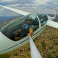 glider airplane selfie nevada