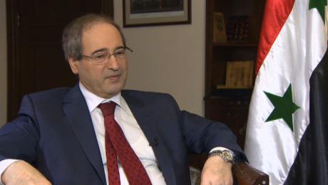 syria deputy foreign minister mekdad pleitgen intv_00002824