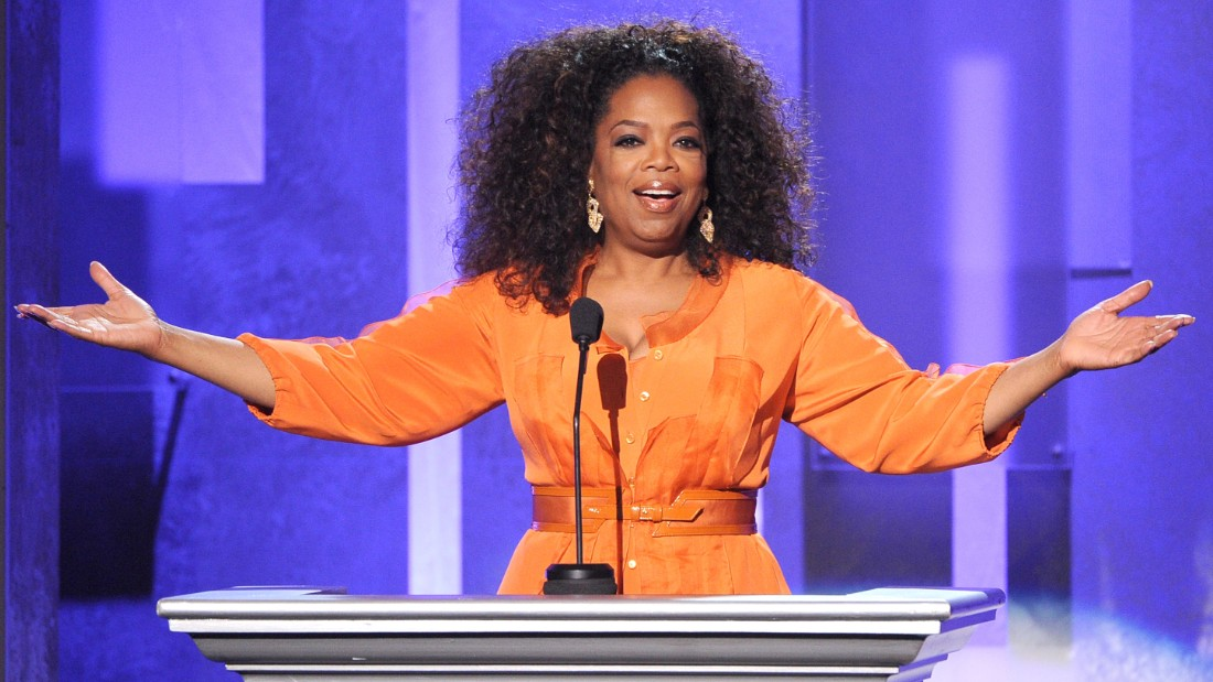 Oprah Winfrey speaks onstage during the 45th NAACP Image Awards presented by TV One at Pasadena Civic Auditorium on February 22, 2014 in Pasadena, California.  (Photo by Kevin Winter/Getty Images for NAACP Image Awards)