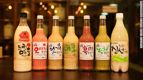 Every region has its own recipe for makgeolli.