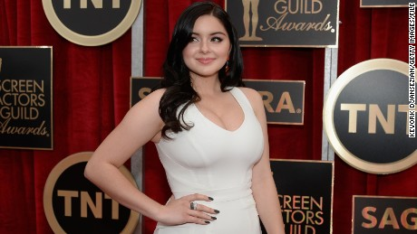 LOS ANGELES, CA - JANUARY 25:  Actress Ariel Winter attends the 21st Annual Screen Actors Guild Awards at The Shrine Auditorium on January 25, 2015 in Los Angeles, California.  (Photo by Kevork Djansezian/Getty Images)