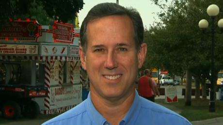 Rick Santorum fetal tissue research Ben Carson newday sot_00000000