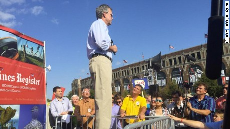 Jeb bush Iowa State Fair