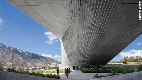 The Center for Arts, Architecture and Design in Monterrey, Mexico, by  Tadao Ando.