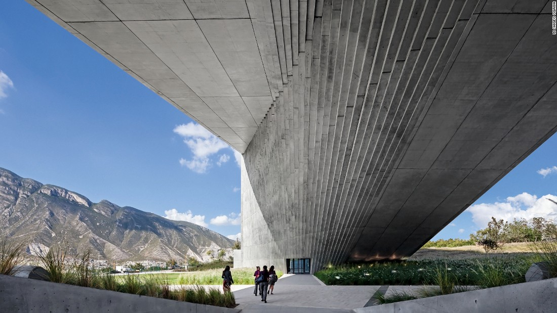 "This six-story building at the <a href=""http://www.udem.edu.mx/Pages/Home.aspx"" target=""_blank"">University of Monterrey</a> is self-taught <a href=""http://www.pritzkerprize.com/laureates/1995"" target=""_blank"">Pritzker Prize-winner Tadao Ando</a>'s first building in Latin America."