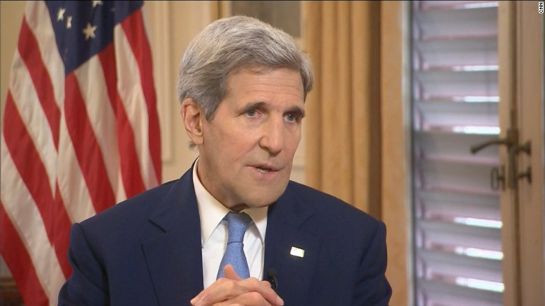 Kerry: Schumer made a hard decision, not lobbying