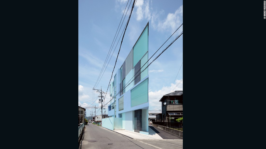 "No, you're not seeing things. This concrete and glass apartment building from Tokyo firm <a href=""http://www.easterndesignoffice.com/"" target=""_blank"">Eastern Design Office</a> is built on a triangular lot, and appears flat when viewed from certain angles."