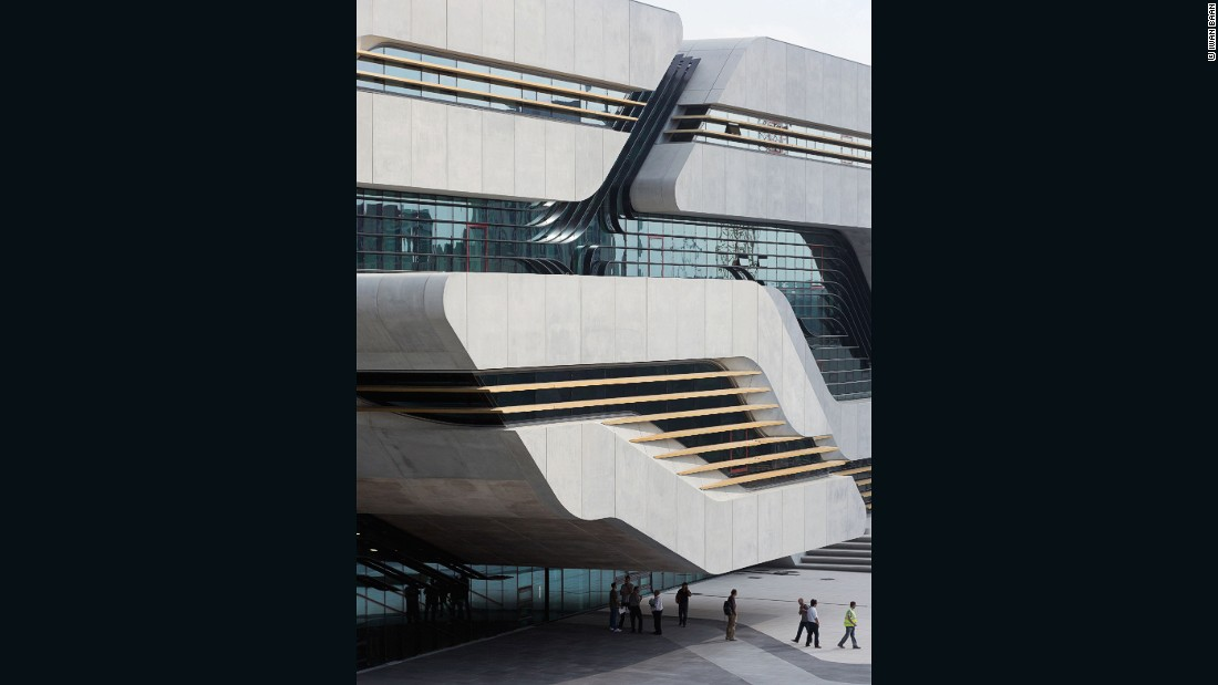 "Pritzker Prize-winning architect <a href=""http://www.zaha-hadid.com/"" target=""_blank"">Zaha Hadid</a> is no stranger to concrete, using the material to create some of her most memorable structures, like the <a href=""http://www.heydaraliyevcenter.az/#main"" target=""_blank"">Heydar Aliyev Center</a> in Azerbaijan and the Sheikh Zayed Bridge in Abu Dhabi. <br /><br />According to the Hadid, this community center in Montpellier ""blends formal geometric complexity with bold structures and an innovative use of materials."""