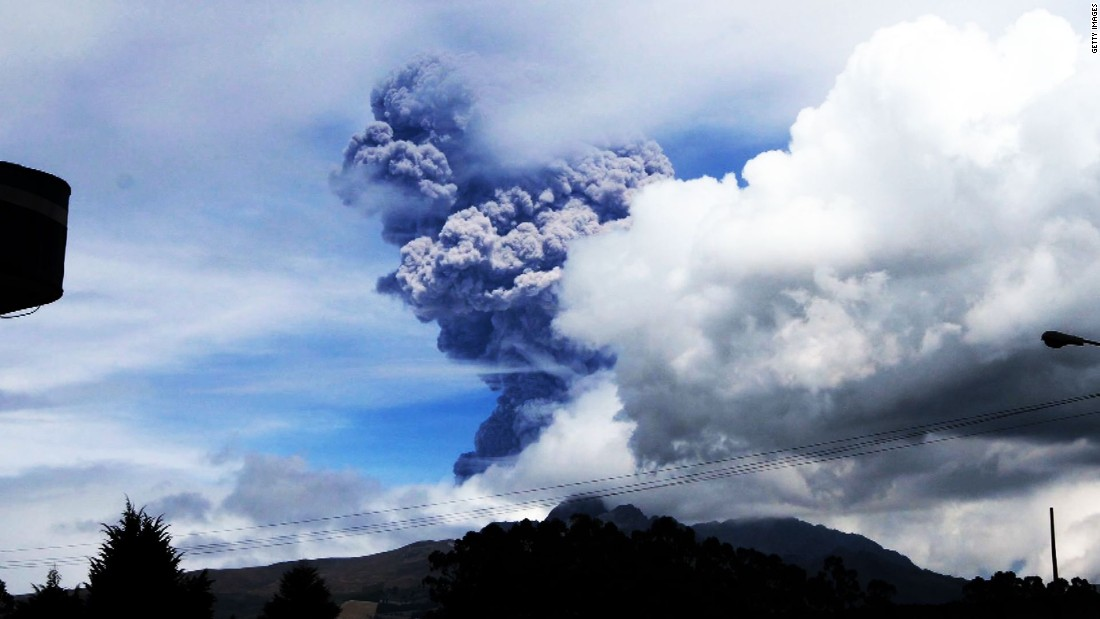 Image result for Volcano prompts highest-level aviation alert
