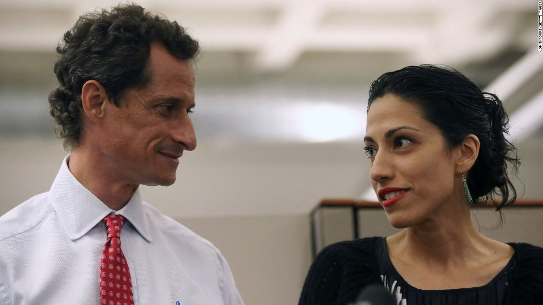 Image result for Abedin-Weiner emails affair