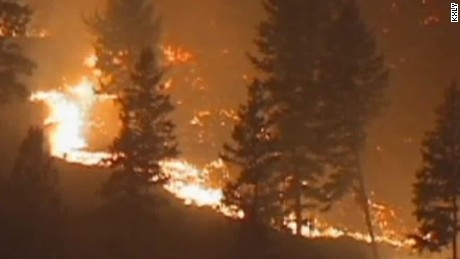 wildfires in western united states.