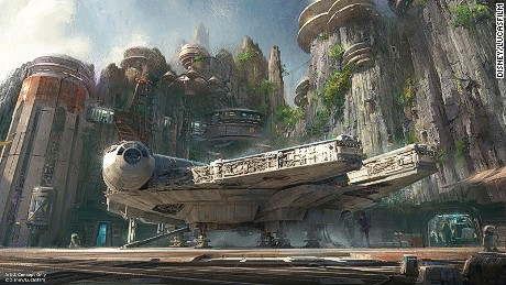 Zwanzger thinks Star Wars Land could be a stand-alone theme park.