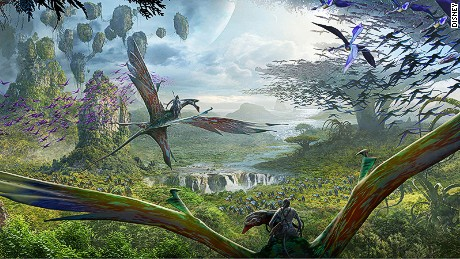 """Avatar"" director James Cameron has been deeply involved in the design of the new Pandora theme park."