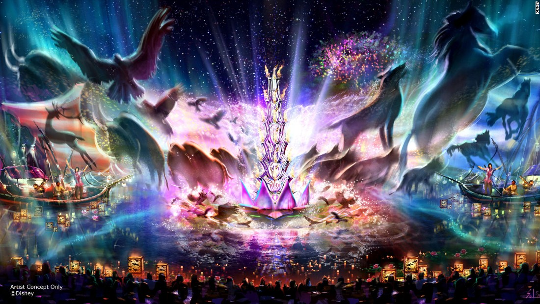 Expected in early 2016, the Rivers of Light experience at Disney's Animal Kingdom will combine live music, floating lanterns, water screens and swirling animal imagery.