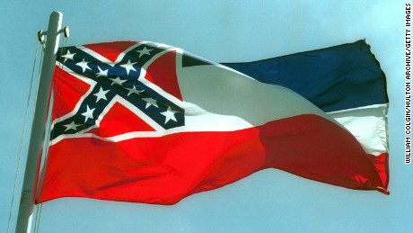 "Attorney Carlos Moore has filed a federal lawsuit alleging that the Mississippi State flag is ""discriminatory and racist."""