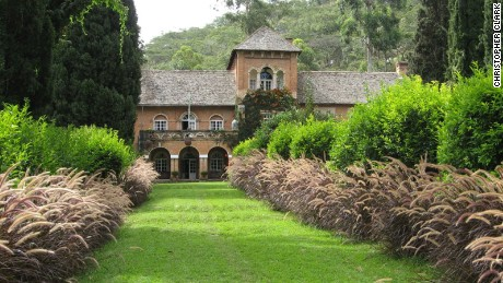 The Shiwa Ng'andu manor house was built by a British colonial officer in the early 20th century.