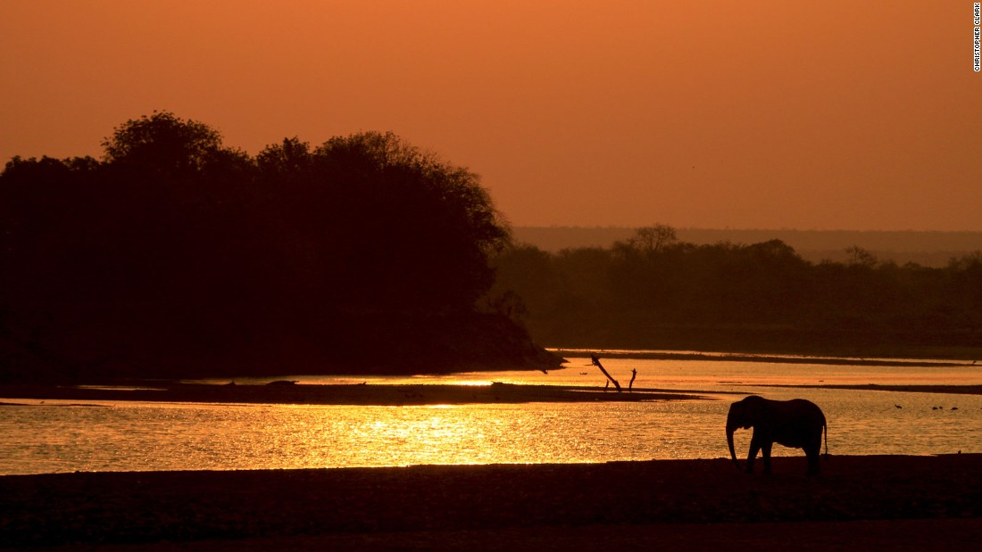 The Luangwa is one of the major tributaries of the Zambezi River. It usually floods in the rainy season between December and March.