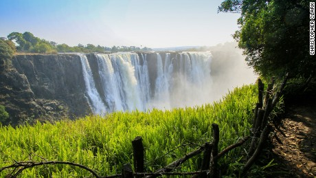 "Victoria Falls is known to locals as ""Mosi-oa-Tunya"" (""The Smoke that Thunders"")."