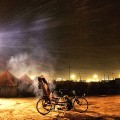 Indian slum bicycyle Insta
