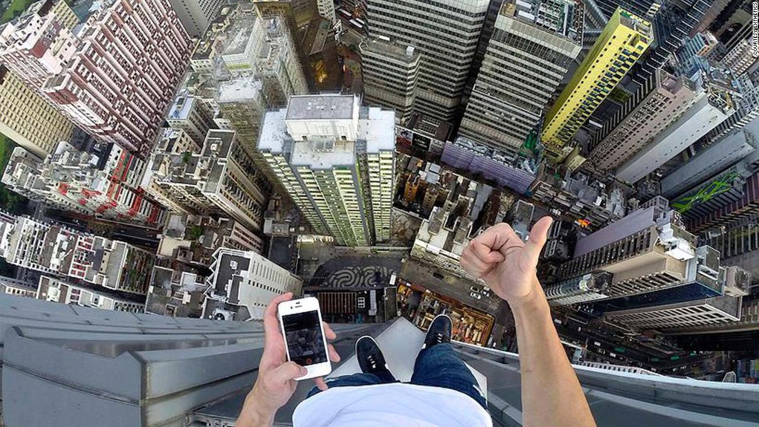 """Lau says rooftopping is more about outdoing himself, rather than being a daredevil. """"For me it's rooftopping, for others it could be anything,"""" says Lau. """"It's a state of mind to me."""""""