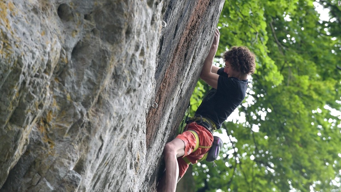"The unlikely ""rock god"" has redefined the world of sport climbing. <a href=""/2015/08/12/sport/adam-ondra-rock-god-redefines-sport-climbing/index.html"" target=""_blank"">Read more</a>"