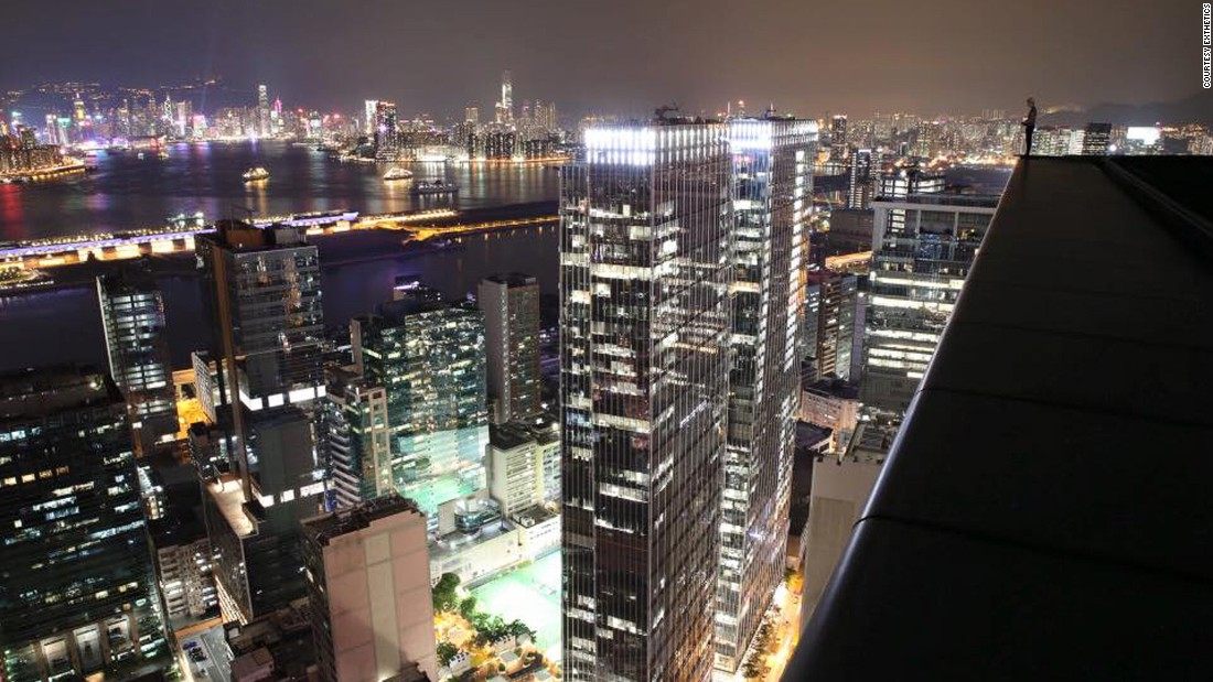 The team has rooftopped in different cities around the world. Conquests include Shanghai's Ping'an International Financial Center, the tallest building in China and the second in the world. They've also climbed Bagkok's Sathorn Unique Tower, the world's tallest abandoned building.