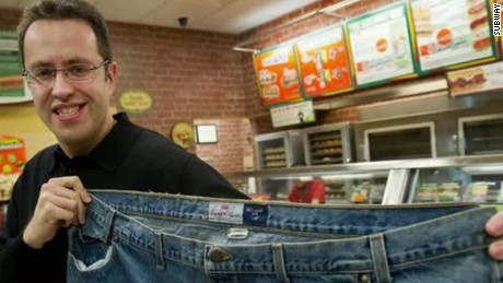 Rise and fall of Subway pitchman Jared Fogle