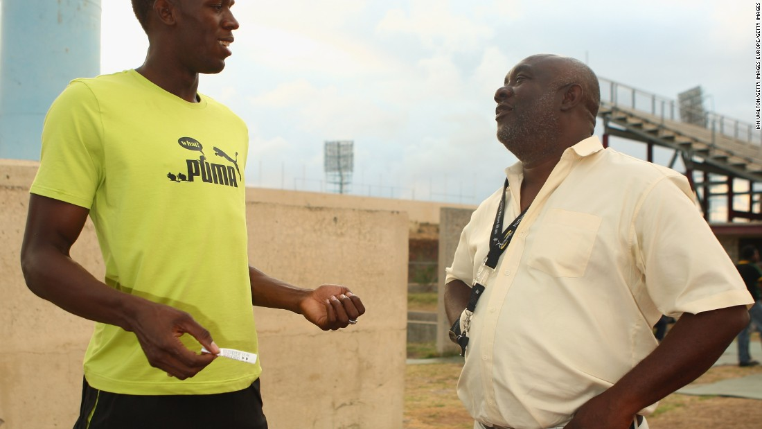 Bolt has been coached to the top by Glen Mills, a key figure in shaping the sprint talent that Jamaica has to offer.