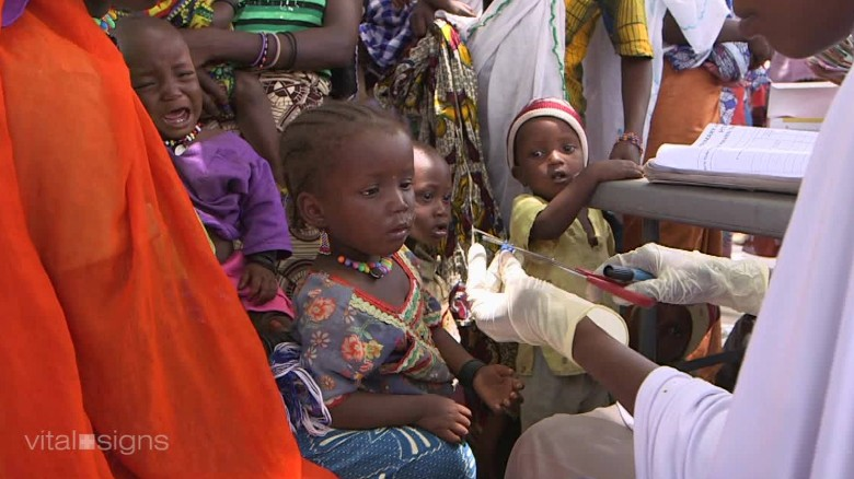Nigeria's fight against polio