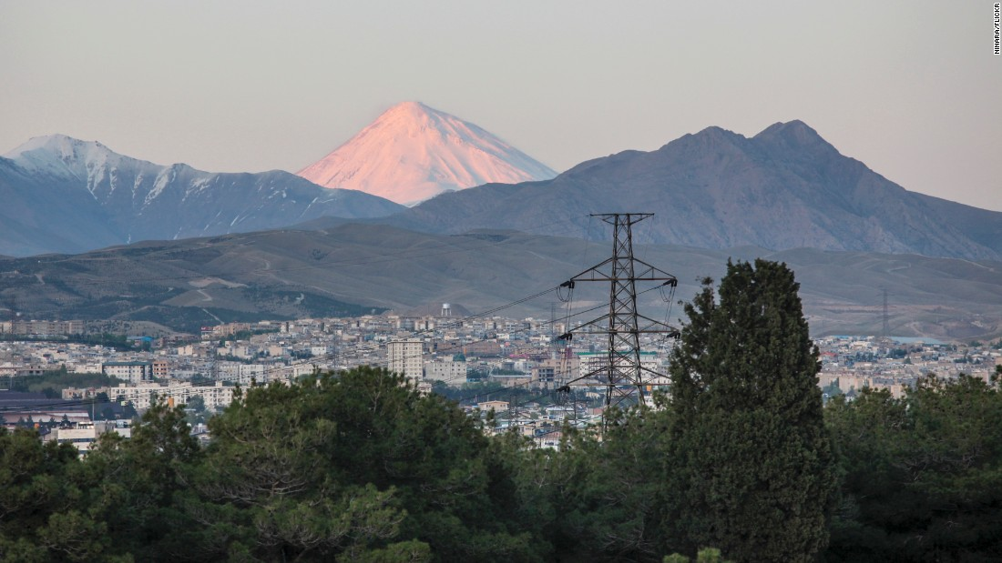 The ultimate off-trail experience in Iran is an ascent of Mt. Damavand, the Middle East's highest peak and a potentially active volcano. The journey to the summit takes three days.