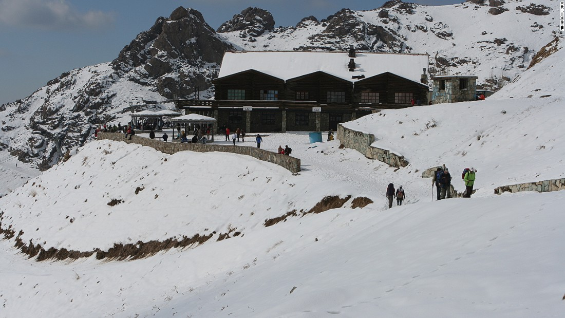 Facilities aren't as well established as Dizin, but with a high elevation of 3,850 meters, Tochal is one of the highest resorts in the world.