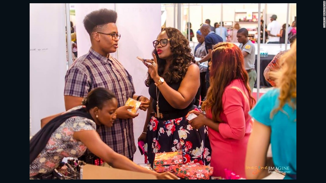 "<a href=""http://www.beautyrevng.com/"" target=""_blank"">Beauty Rev NG</a> is also a Lagos-based e-commerce company and community offering a variety of beauty products."