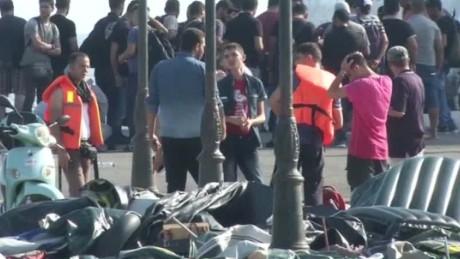 greece migrant crisis moraes intv gorani wrn_00015612