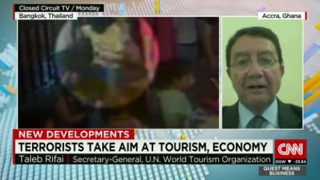 exp Taleb Rifai, Secretary-General of the UNWTO, discusses Bangkok and tourism. _00002001